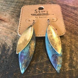 Jewelry - Boho Style Metal Lightweight Earrings